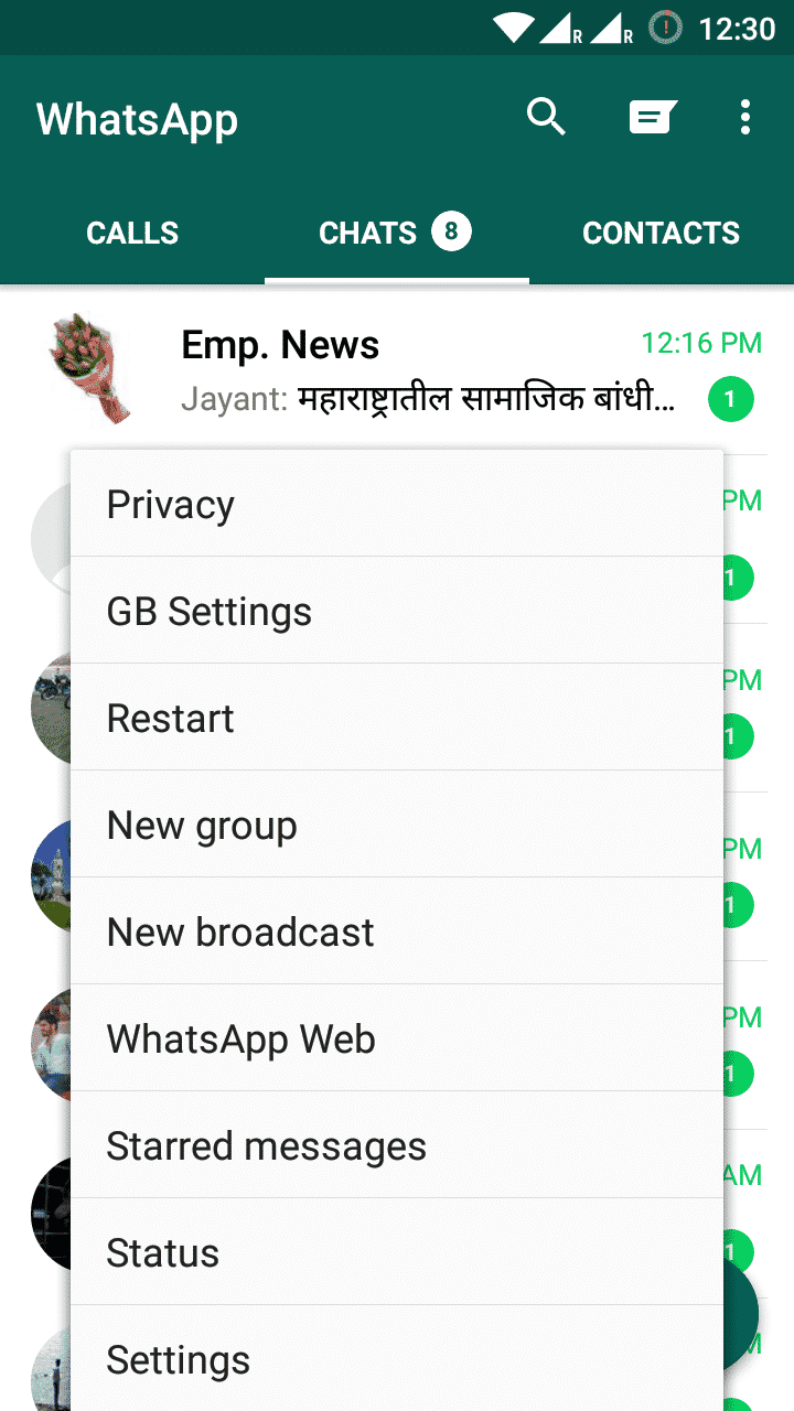 "How to [show older]/fake ""last seen on"" in Whatsapp"