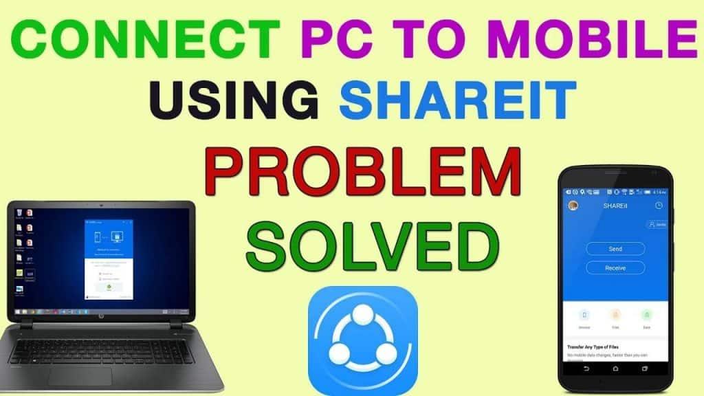SHAREit Mobile to PC Connection Problem Fix 2018 {updated} | Shareit Connection Problems 1