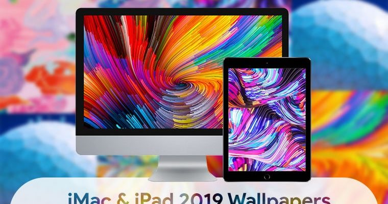 Download iMac and iPad 2019 Stock Wallpapers 2019