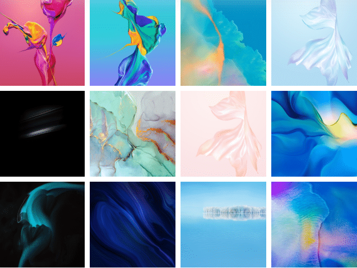 Huawei P30 and P30 Pro Stock Wallpapers