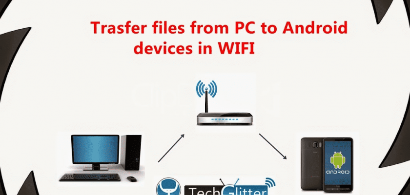 6 Ways To Transfer Files Between Computer to Android Mobile on WiFi 1