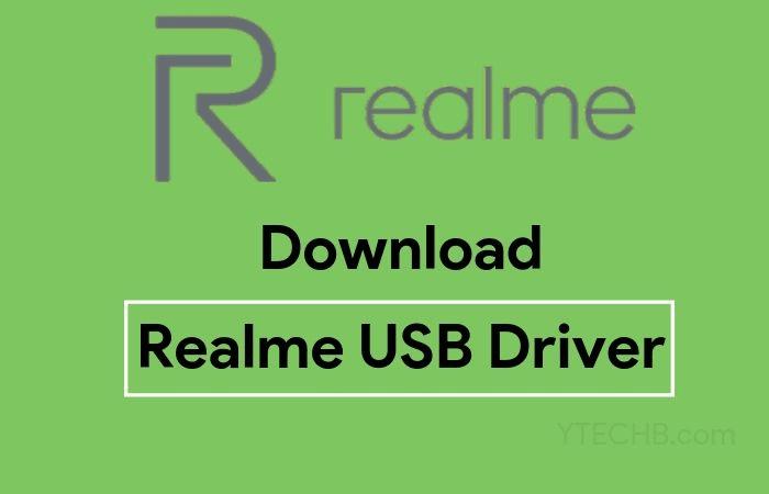 realme usb driver